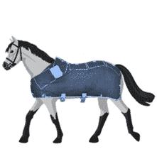 Therapiedecken: Pferdedecken mit Infrarotwärme, Massagedecken